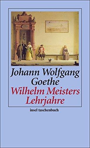 Preisvergleich Produktbild Wilhelm Meisters Lehrjahre: Ein Roman (insel taschenbuch)