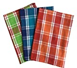 #4: Lushomes Yarn Dyed Kitchen Towels (Pack of 3 - Multicolour)