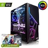 Megaport PC Gamer Premium Intel Core i7-9700K 8X 4,90 GHz Turbo • GeForce RTX2060 6Go • 16Go DDR4 • 480 Go SSD • 1To HDD • Windows 10 • WiFi Unité Centrale Ordinateur de Bureau PC Gaming