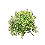 Decdeal Artificial Gypsophila Flower Bouquet Home Party Decor Stimulation Green Planting