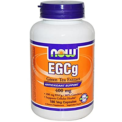 Now Foods EGCg Green Tea Extract, 400mg - 90 caps Great Antioxidants Supply