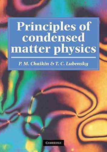 [Principles of Condensed Matter Physics] (By: P. M. Chaikin) [published: December, 2000]