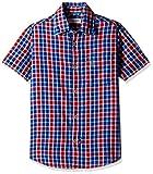 US Polo Association Boys' Shirt (SH5765_Medium Red_EL HS)