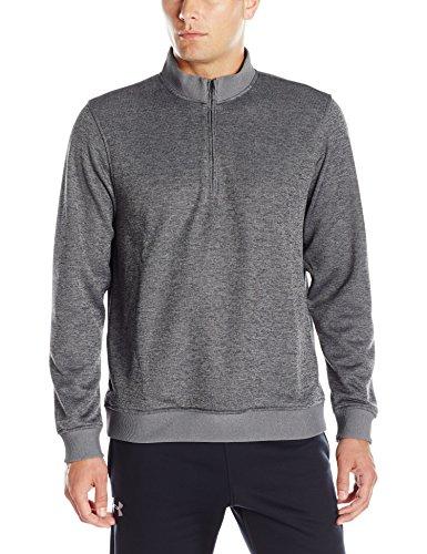 Under Armour 2017 ColdGear Storm 1/4 Zip Sweater Mens Golf Fleece Pullover Carbon Heather Medium Fleece-pullover Golf