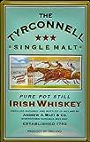 Blechschild Nostalgieschild Tyrconnell Whiskey Pferderennen Pferde retro Schild Werbeschild