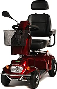 Freerider City Ranger 6 Class 3 4 Wheel Mobility Scooter - Red