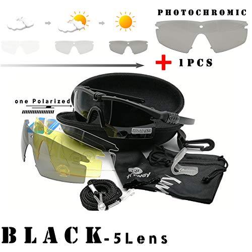 Tryway Gafas Seguridad tácticas Profesionales balística