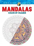 Creative Haven Mandalas Color by Number Coloring Book (Adult Coloring) by Shala Kerrigan (2015-07-15)