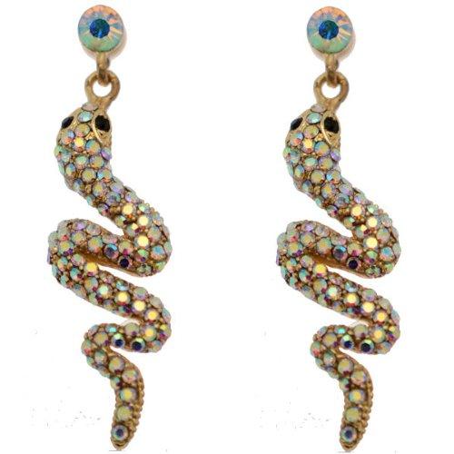 Rainbow Farbiges Kostüm - Acosta Jewellery-Rainbow AB Kristall-Gold Farbige Animal