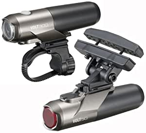 Cateye Volt 300/50 EL-460 Front/Rear USB Rechargeable Cycle Light Set
