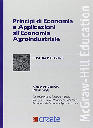 Principi di economia e applicazioni all'economia agroindustriale