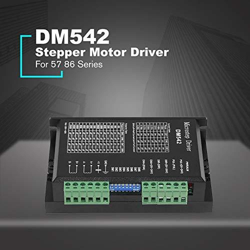 Jacobden Schrittmotortreiber-Controller Für 2-Phasen-Digital-Schrittmotortreiber der Serie 57 86, DC 24-60 V, 4,5 A, langlebig -