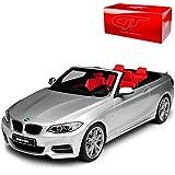 alles-meine.de GmbH BMW 2er F23 M235i Cabrio Silber Nr 102 Ab 2013 1/18 GT Spirit Modell Auto