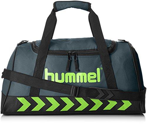 Hummel Authentic Sports Bag Sporttasche, Größe:S, Farbe:grün, 50x27x23cm, 23 Liter (Grün-flash-schuhe)