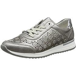 Remonte Damen R7004 Sneakers, Grau (Altsilber/Argento / 90), 42 EU