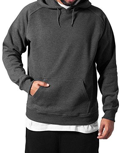 Urban Classics Herren Kapuzenpullover Blank Hoodie, Farbe royal, Größe 4XL (Hoody 4)