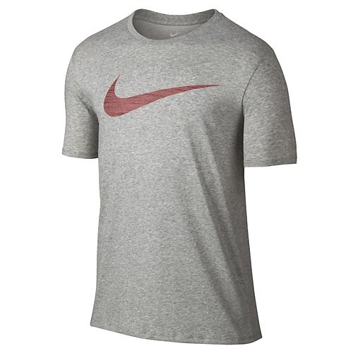 Nike DF M NK Dry Tee Swoosh HTR T-Shirt, Herren