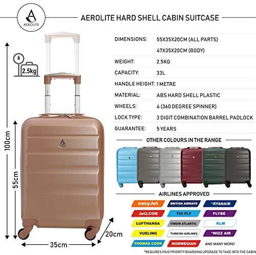 c77b91a3d0 Zoom IMG-2 trolley aerolite abs bagaglio a