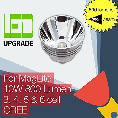 MagLite LED Upgrade Ersatz lampe 800LM Hohe Leistung Taschenlampen 3D 4D 5D 6D zellen CREE - Upgrades Form