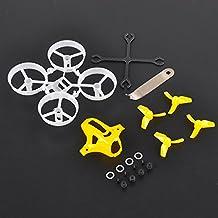 Tiny 65mm Frame Kits Amarillo con herramienta de eliminación de apoyos para lámina Whoop pequeña Inductrix FPV Micro Quadcopter Mini Drone