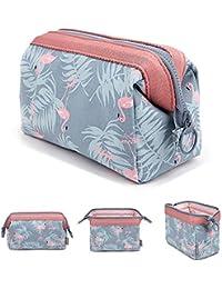 Bolsa para cosméticos MLMSY, versátil, portátil y Muy espaciosa, Ideal para Mujeres y niñas Flamingo (A:Flamingo)