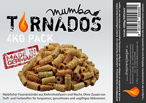4 kg (ca. 360 Stück) Ofenanzünder aus Holzwolle in Wachs getränkt
