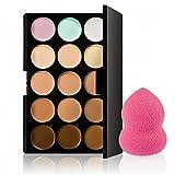 15 Colores Paleta De Contorno Corrector + 1 Belleza Maquillaje...