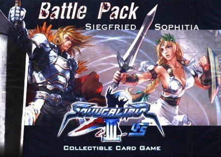 Universal Fighting System (UFS) Card Game Soul Calibur III Battle Pack Siegfried Vs. Sophitia by Sabertooth - System Universal Fighting