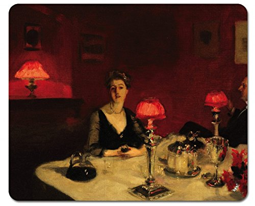 john-singer-sargent-the-dinner-table-the-cup-of-oporto-1884-mouse-mat-23-x-19-cm