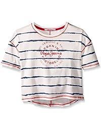 Pepe Jeans Casta Jr, T-Shirt Fille