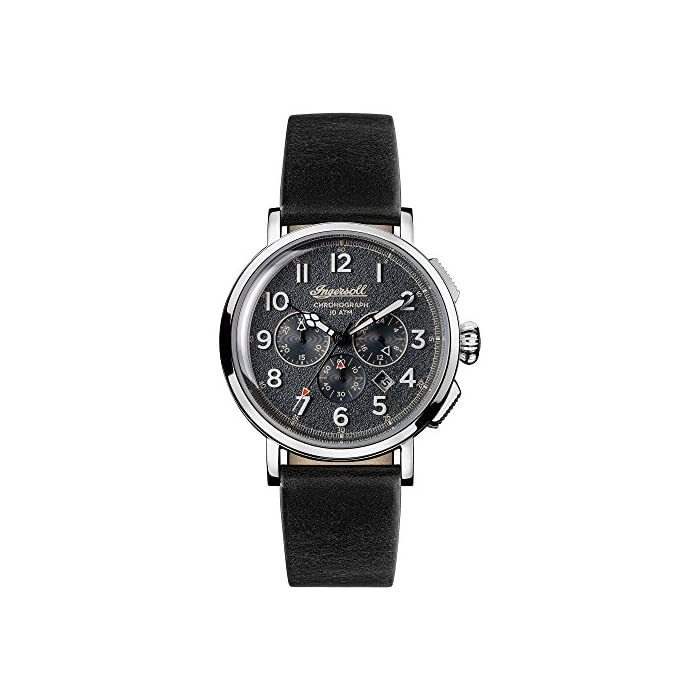 Ingersoll Men's The St Johns Quartz Watch with Leather Strap