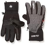 Level Handschuh Force Gore-Tex - Guantes de esquí para hombre, color negro, talla 8.5