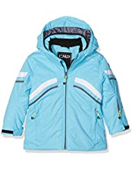 CMP–Chaqueta de esquí para niña, otoño/invierno, niña, color Turkish, tamaño 116