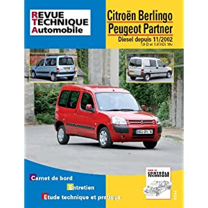 Revue Technique B719.5 Berlingo/Partner/Combi 11/02> 1,6hdi/1,9d