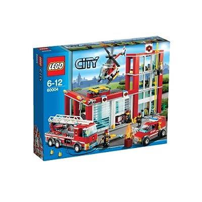 LEGO CITY 60004 - Estación de Bomberos