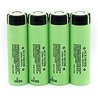 Batería de litio recargable exquisita de 3.7V 3400mAH 18650, baterías de la linterna de Panasonic