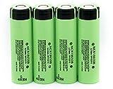 Best Baterías recargables - Batería de litio recargable exquisita de 3.7V 3400mAH Review