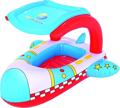 UV Careful Pool Float 102x97 cm, Kinderboot mit Sonnendach