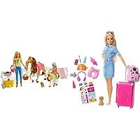Barbie Ranch Di E Chelsea, Playset Giocattolo Con Due Bambole, Cavalli E Accessori, Per Bambini 3 + Anni & In Viaggio…