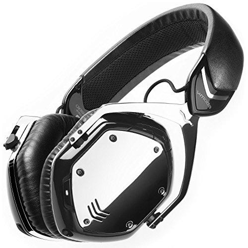 V-MODA Crossfade Wireless Casque Audio Supra-Auriculaire Sans Fil, Bluetooth- Phantom Chrome