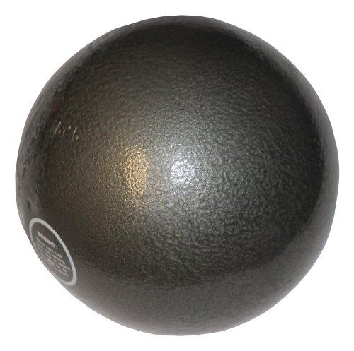 Preisvergleich Produktbild Boje Sport Stoßkugel für Wettkampf + Training 7, 26 kg aus Gusseisen - Dark Fog