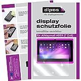 dipos I 2X Schutzfolie klar kompatibel mit Alldaymall A88X 17,8 cm (7 Zoll) Folie Displayschutzfolie