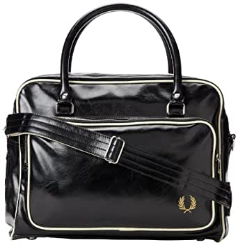 Fred Perry Classic Holdall Bag Black
