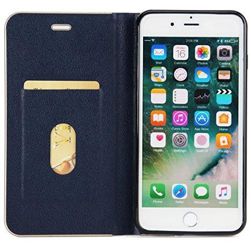 Custodia Per Iphone 7 Plus Morbido Cover Marrone Affari Telefono