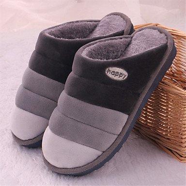 pantofole Infradito da uomo Pantofole & amp;Infradito Cotone Moda Slipper Casual piatto Heel sandali US10 / EU43 / UK9 / CN44