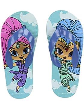 Nickelodeon Sandalias de Caucho Para Niña Azul Azul