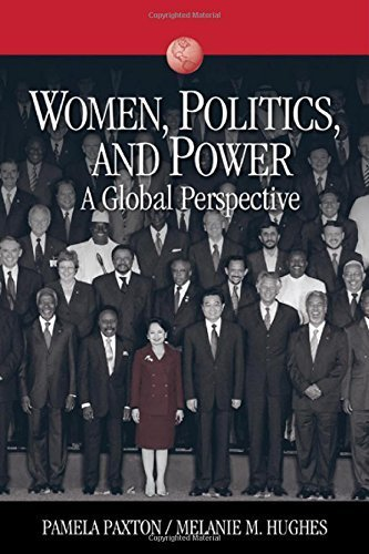 Women, Politics, and Power: A Global Perspective (Sociology for a New Century Series) by Pamela M. (Marie) Paxton (2007-03-06)