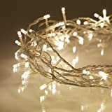 Indoor Fairy Lights with 100 Warm White LEDs on 8m of Clear Cable by Lights4fun Bild 3