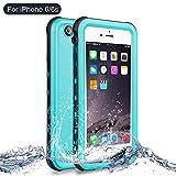 iPhone 6/6s Waterproof Shockproof case, NewTsie Full-body Protective Snowproof Dirtproof with Built-in Screen