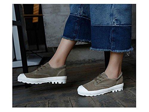 ALUK- Printemps Et Automne Coréen Chaussures Casual Chaussures Plates Estudiants Tendance Chaussures ( couleur : As Shown In Color , taille : 39 ) As Shown In Color